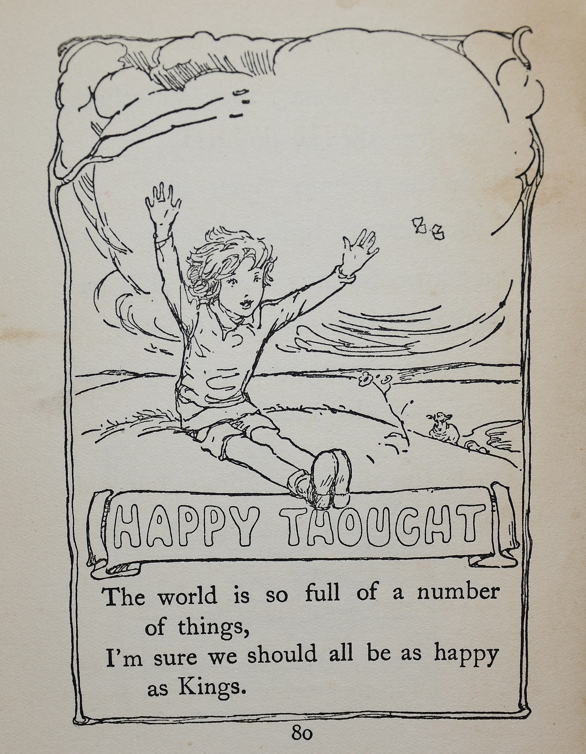 Happy Thought By Robert Louis Stevenson