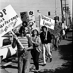 Gay Liberation Front pickets SDPD 1971
