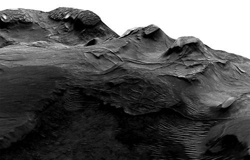 Marte regione Nilosyrtis