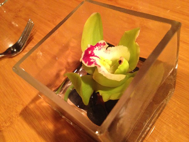 Orchid table decoration