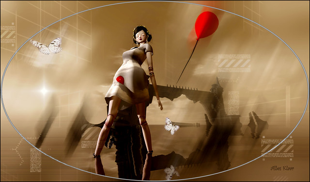 Walking With My Red Balloon