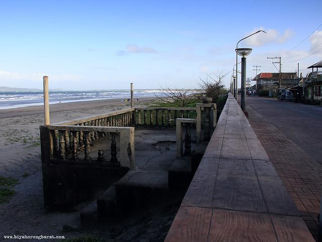 Promenade in bagasbas Beach camarines Norte daet