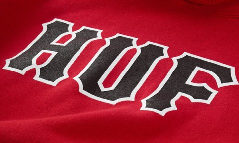6_HUF_Spring_2013_Classic_Logo_Pullover_Hood_Red_Detail_2
