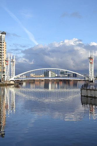 Salford Quays/MediaCityUk by Angela Seager Photo