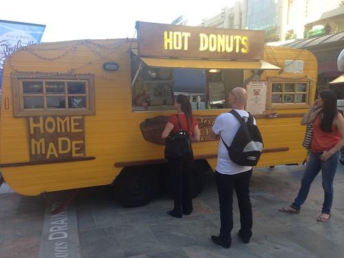 Polish donuts van!