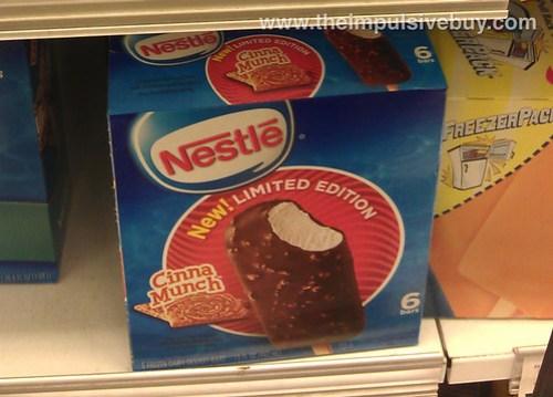 Nestle Limited Edition CinnaMunch Bars