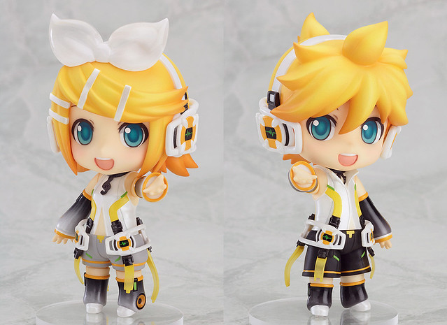 Nendoroid Kagamine Rin and Len Append version
