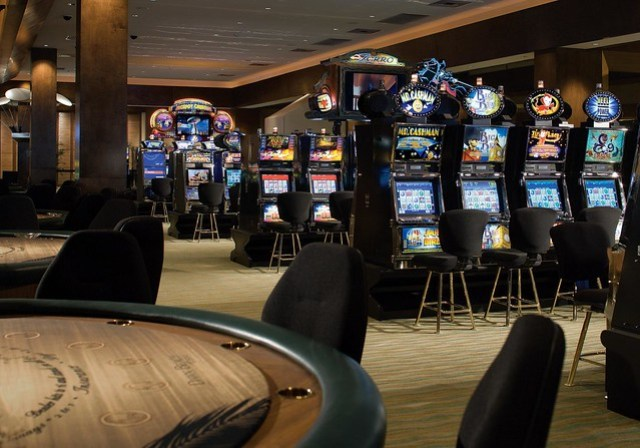The Westin Dawn Beach Resort & Spa, St. Maarten—Casino Slots