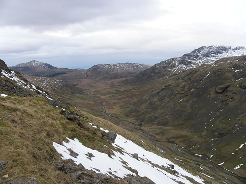 Harter Fell, Hard Knott, Little Stand and the River Duddon