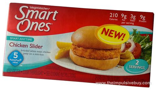 Weight Watchers Smart Ones Chicken Slider