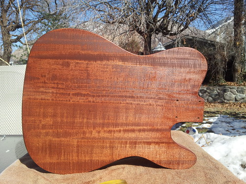 Telecaster body: Sixth Coat