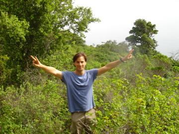 Hiking with Carlos Rohm by Carlos Rohm