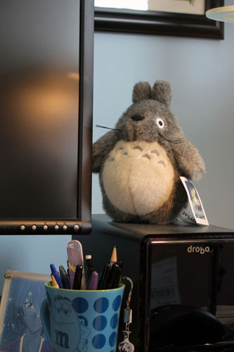 Totoro on my Desk.
