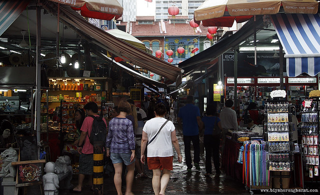 Street Market Chinatown Singapore