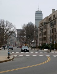 Ames Street, with Pru view