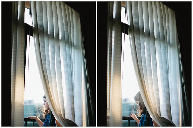 balcony diptych
