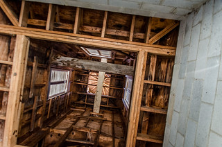 Mount Ariel Church Bell Tower Interior
