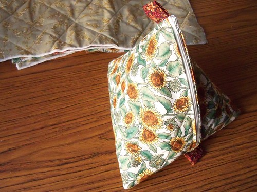 pyramid bag finished