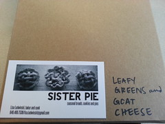 Leafy Greens and Goat Cheese Pie