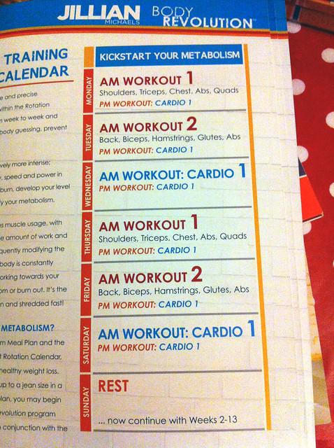 Kickstart workouts