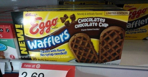 Limited Edition Chocolatey Chocolate Chip Eggo Wafflers