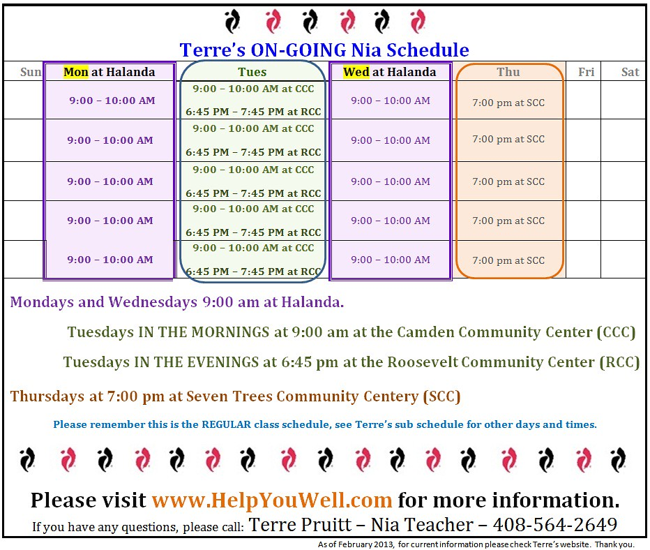 Dance Exercise, Nia, Nia at the City of San Jose, Nia classes in the South Bay, Nia Teacher, Nia Class, San Jose Nia, Nia San Jose, Nia workout, Nia, Zumba