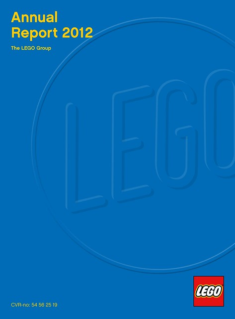 LEGO Annual Report 2012 cover