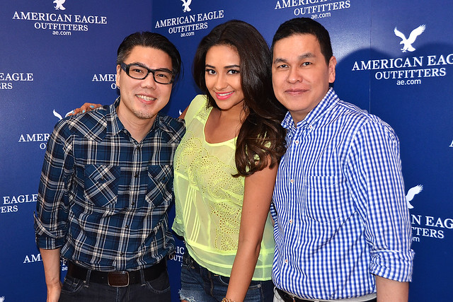 Miguel Pastor, Shay Mitchell, Ben Chan