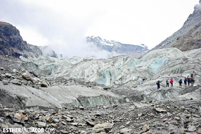 Fox Trot Fox Glacier   Glacier Hiking in New Zealand South Island.