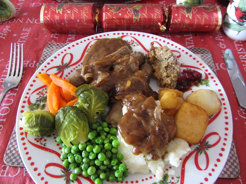 vegan xmas dinner 2012