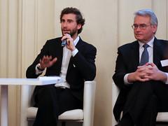 Olivier Binet, Paypal et Roland Entz, Visa Europe France