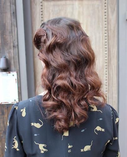 40s curls