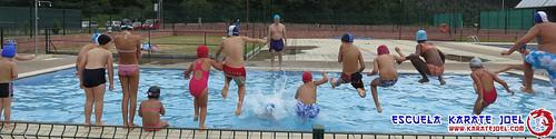 Aquagym en la piscina