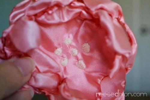 Singed Flower Wreath Tutorial Step 6