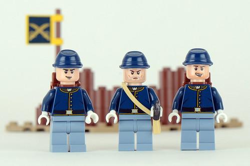 79106 Lone Ranger Cavalry Builder Set