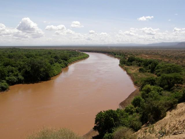 Río Omo. Karo