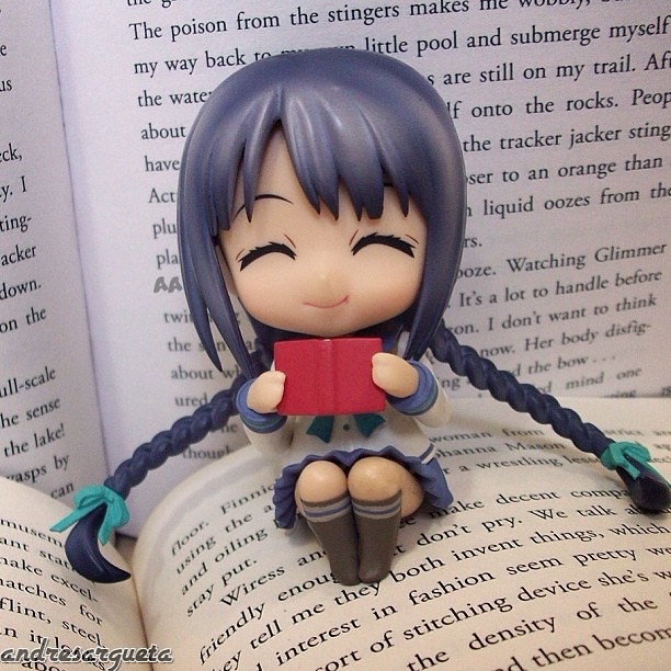 Library is a paradise for Tooko-chan
