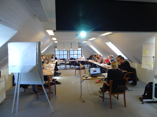 Coaching course at ÍSF, Faroe Islands