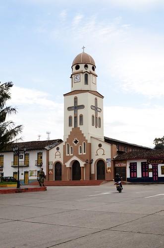 The church in Salento