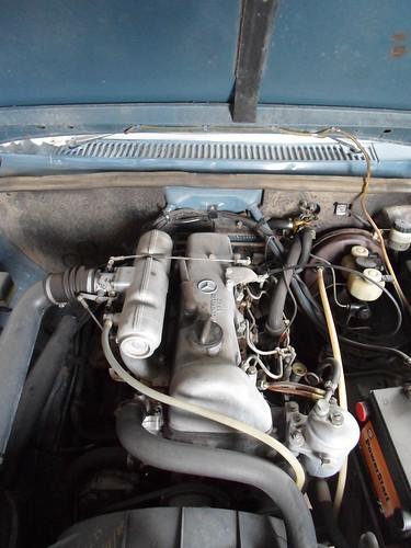 1970 Mercedes Benz 220D - diesel engine