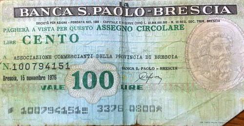 Banco S Paolo Brescia