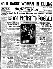145,000 Protest Scottsboro to Roosevelt: 1933