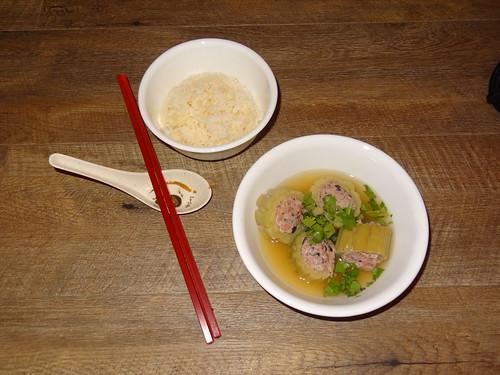 Canh Kho Qua - Bitter Melon with Pork Soup