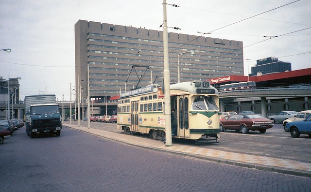 1980 Den Haag, Rijnstraat / Den Haag CS