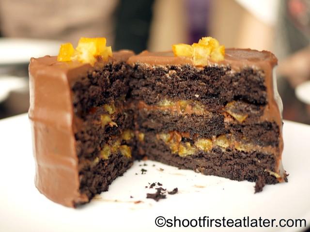My Kitchen - triple chocolate cake P350-001