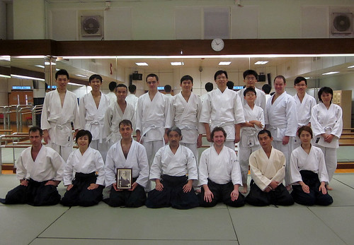 weekend practice @ Doyukai Hong Kong dojo