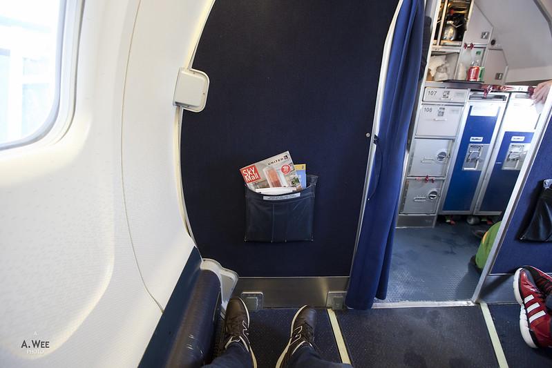 Bulkhead Domestic First on UA CRJ700