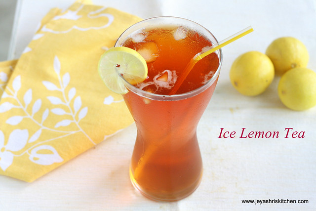 ice lemon tea 3