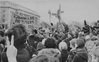Antiwar Protestors Salute Nixon: Counter-Inaugural 1969