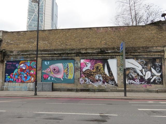 Great Eastern Street Fun Wall